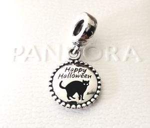 Pandora Happy Halloween Black Cat, Dangle Charm #ENG791169_56 +Gift Box +Tag for Sale in Fontana, CA