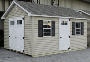 New 12' x 18' Vinyl Chateau Shed for Sale in Rehoboth, MA
