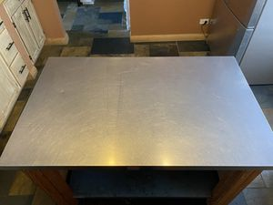ISLAND KITCHEN STAINLESS STEEL!!! for Sale in Bloomingdale, IL