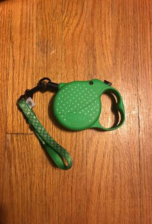 Puppy dog collar and retractable leash for Sale in Belmont, MA