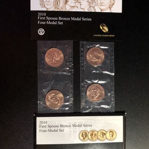 2010 First Spouse 4 Bronze Medal Set for Sale in Antioch, CA