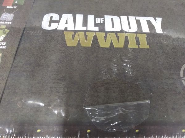 Call of duty WWII exclusive mystery collectible