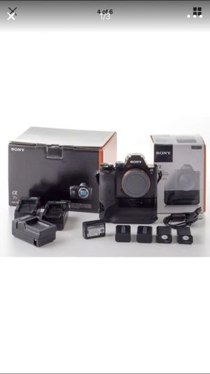 Sony a7r photography dslr camera 36 mp mirrorless for Sale in Phoenix, AZ