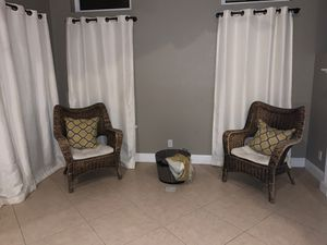 Farmhouse Wicker chairs for Sale in Ceres, CA