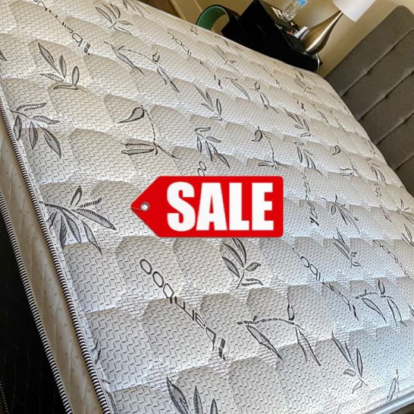 KING MATTRESS 💥 CAL KING MATTRESS 💥 PILLOW TOP FOR ONLY 250 PLUS DELIVERY ‼️