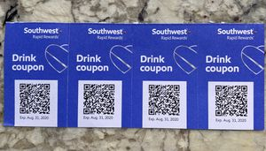 Southwest Drink Coupons for Sale in Gilbert, AZ