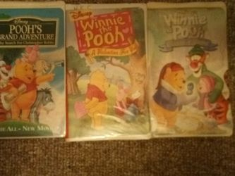 Winnie The Pooh VHS Tapes for Sale in Athens,  IL