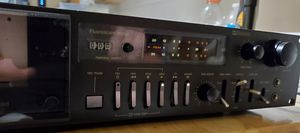 Technics by Panasonic Tape Deck and Parametric Equalizer. for Sale in Lake Worth, FL