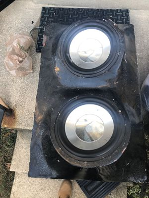 Car speakers and Power Amplifier XM 800w for Sale in Laurel, MD
