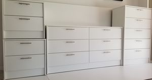 New dresser chest and nightstands. Delivery for Sale in Tampa, FL