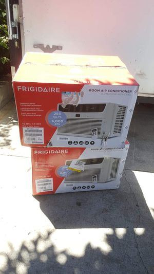 EACH FOR SALE BRAND NEW AC WINDOW 6000 BTU FRIGIDAIRE for Sale in Los Angeles, CA