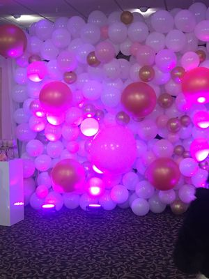 Get this beautiful balloon wall for your next event for Sale in Philadelphia, PA