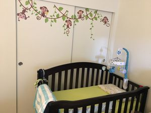 5in1 convertible baby to toddler crib for Sale in South Jordan, UT