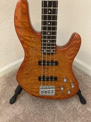 Fender Deluxe Quilt Top Jazz Bass Guitar for Sale in Glendale, AZ