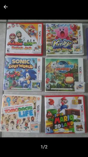 3ds games for Sale in Kissimmee, FL