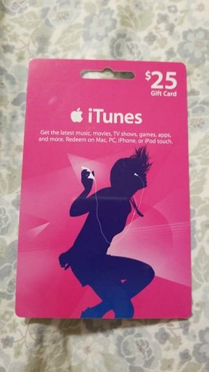 Itunes card for Sale in Kennewick, WA