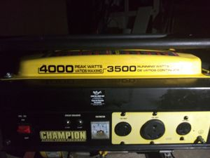 Champion Generator 3500 watts for Sale in Pueblo, CO