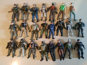 Gi joe collection 23 action figures for Sale in Sandy, UT