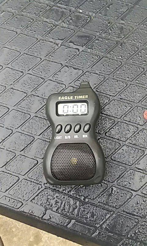 Truck driver alarm clock