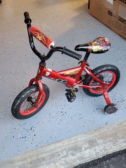 "Cars Themed 12"" Boys Bike for Sale in Rockville,  MD"