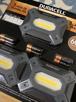 Duracell Work Lights, 3 Pack for Sale in Torrance,  CA
