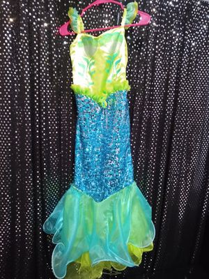 Little mermaid dress size 10 for Sale in Pembroke Pines, FL