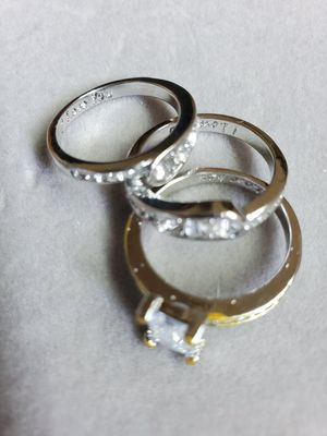 Fashion rings set of 3 for Sale in Shelton, WA