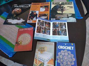 7 Crochet pattern books for Sale in Roanoke, VA