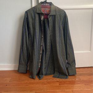 Robert Graham Dress Shirt Large for Sale in Bridgeport, CT