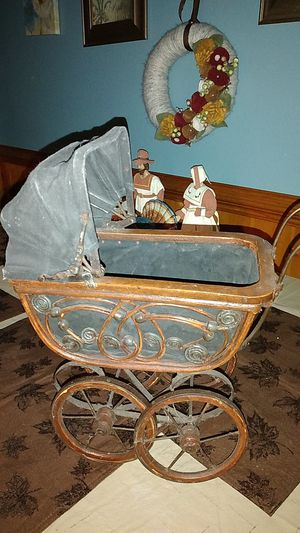 Antique doll carriage for Sale in S CHESTERFLD, VA