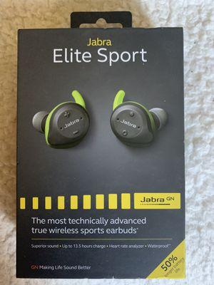Jabra Elite Sport wireless sports earbuds for Sale in Puyallup, WA