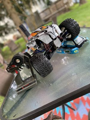 TRAXXAS 1/10 NITRO T MAXX 3.3 UPGRADED for Sale in Olney, MD