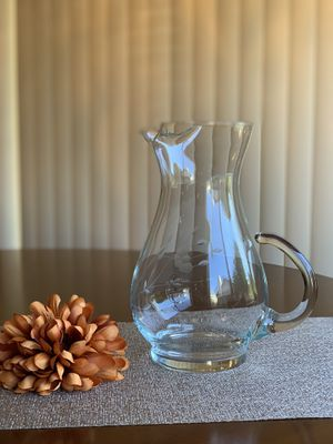 Princess House Heritage Large Pitcher for Sale in Fontana, CA