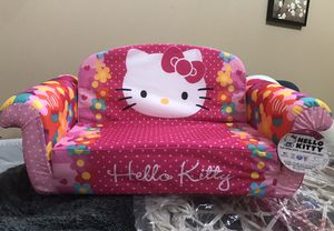 Hello kitty flip open sofa for Sale in West Valley City, UT