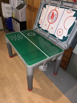 Children & Adults Game table (Pool, Table hockey, ping pong, and more.) for Sale in Ashburn, VA