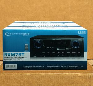 Technical Pro Stereo Audio Receiver Am Fm Bluetooth USB Karaoke ♨️ 100 Day Payment Plan ♨️ No Credit Needed ♨️ for Sale in Los Angeles, CA