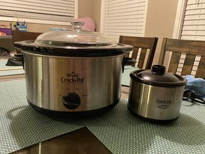 Rival Crockpot with Little Dipper for Sale in Pasadena, CA