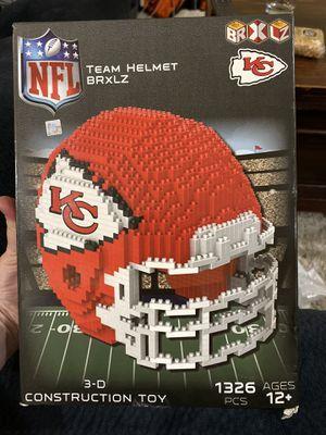 3D Kansas City chiefs lego helmet for Sale in Camas, WA