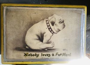 Nobody loves a fat man picture Colby 1909 for Sale in Alexandria, VA