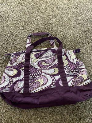 Purple fabric duffel tote bag for Sale in Littleton, CO