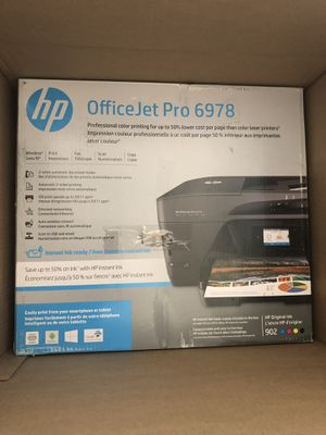 Brand New HP OfficeJet Pro 6978 InkJet All-In-One Printer Wireless Now for Only $80!! for Sale in Los Angeles, CA