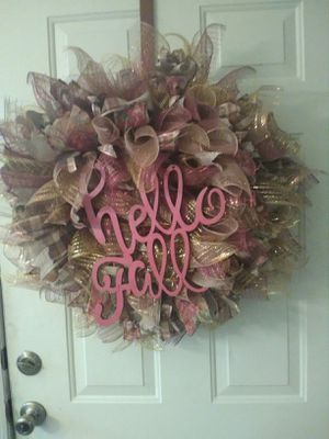 Handmade Fall wreath for Sale in Orange, TX