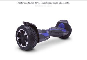 T138683 MotoTec Ninja 36V Hoverboard with >> Bluetooth for Sale in Indio, CA