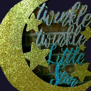 Twinkle Twinkle Little Star Wood Sign for Sale in Miami, FL
