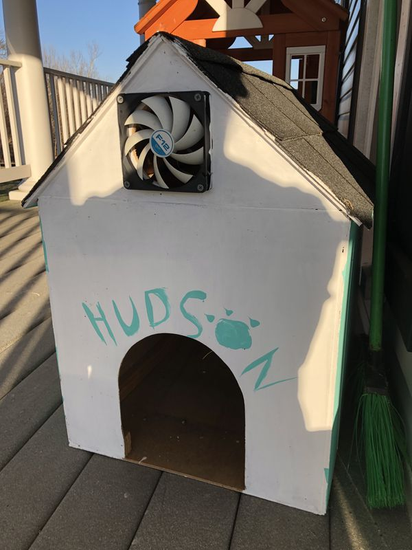 Dog house for a small dog