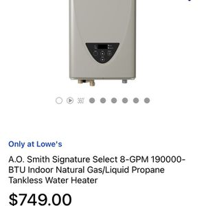 Water Heater for Sale in Manteca, CA