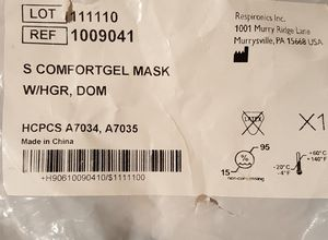 Small C-pap full face mask for Sale in Hyattsville, MD