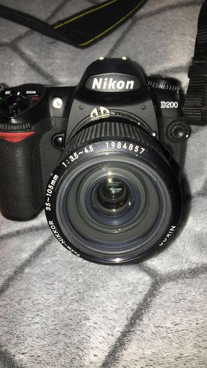 Nikon D200 camera with Lens & memory card for Sale, used for sale  Norcross, GA