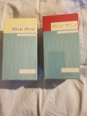 Miu Miu Perfume EDP (100ml) $55ea for Sale in Washington, DC