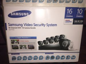 Samsung Video Security System, 7 Cameras, Night/Day, Outdoor for Sale in Lantana, FL